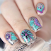 Floral Nails Designs Ideas
