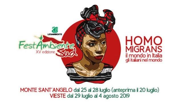 Homo Migrans, il mondo in Italia e gli italiani nel mondo il tema della XV edizione di FestambienteSud. Il Programma