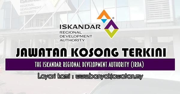 Jawatan Kosong 2019 di The Iskandar Regional Development Authority (IRDA)