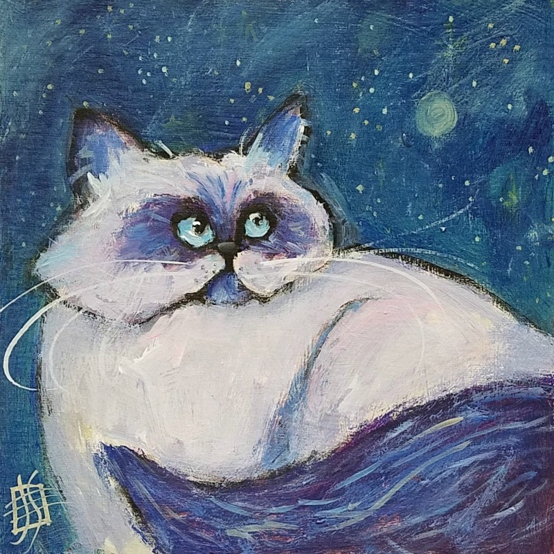 CAT #24 Twinkle by Joanie Springer 30 CATS in (almost) 30 Days