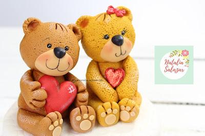 como hacer osos enamorados