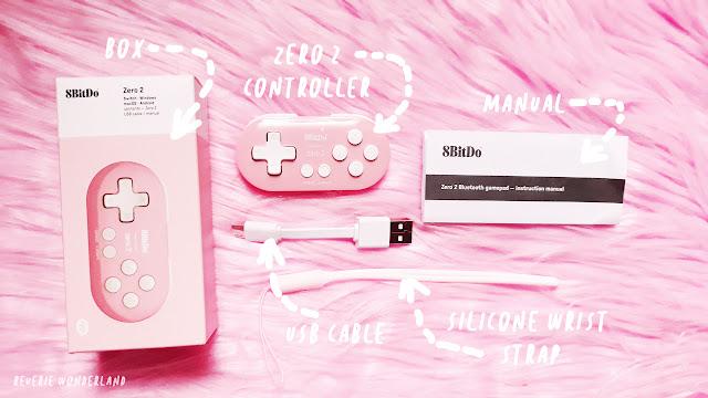 8bitdo Zero 2 Pink Unboxing Reverie Wonderland