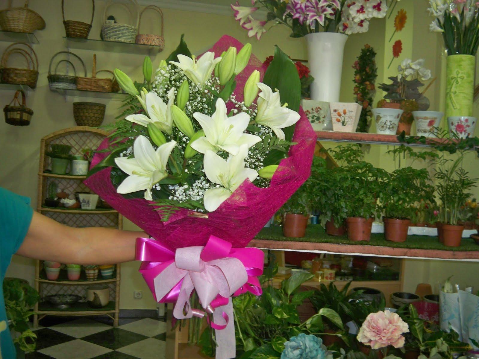 Floristería Olga: Regala una flor todo el año