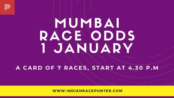 Mumbai Race Odds 1 February, Race Odds,