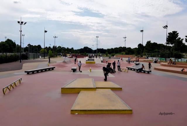 skate plaza perpignan