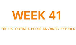 Advance football pools fixtures