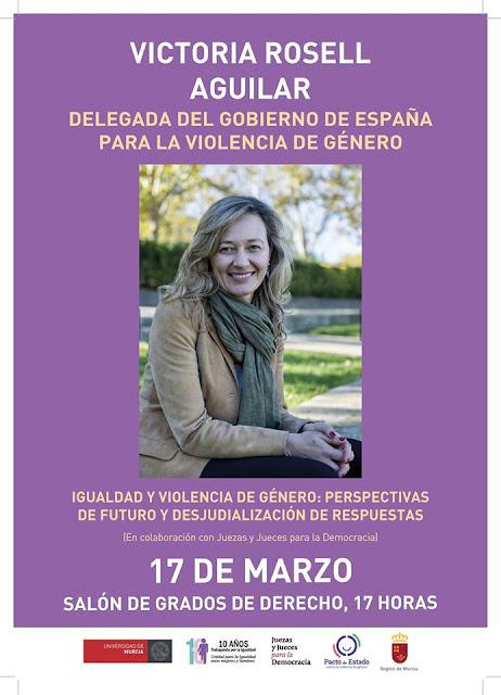 """Conferencia: """"Igualdad y violencia de género: perspectivas de futuro y desjudialización de respuestas"""""""