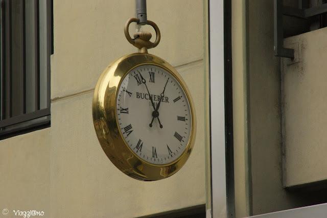 Gli orologi, simbolo svizzero e della città di Lugano