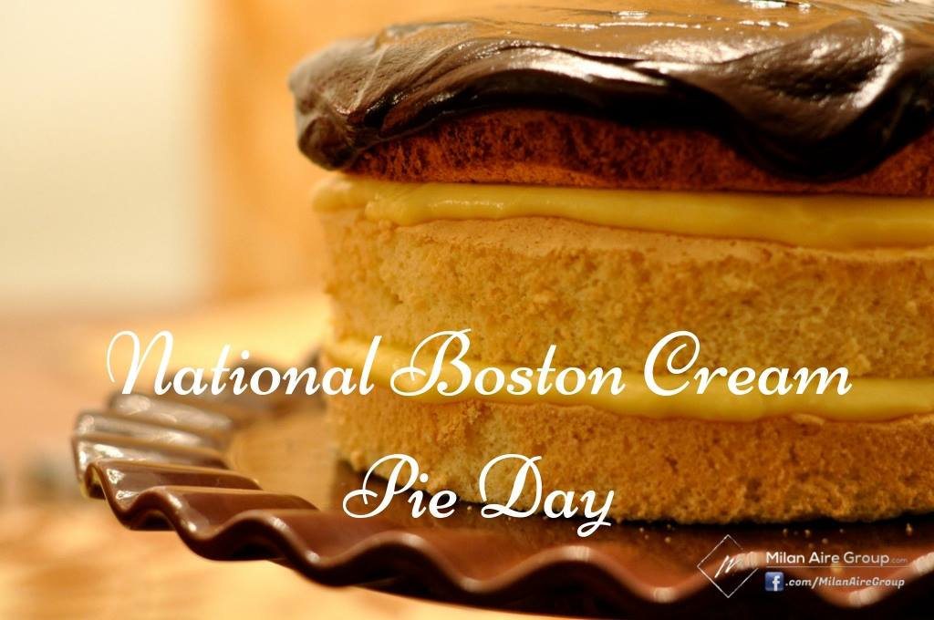 National Boston Cream Pie Day Wishes Unique Image