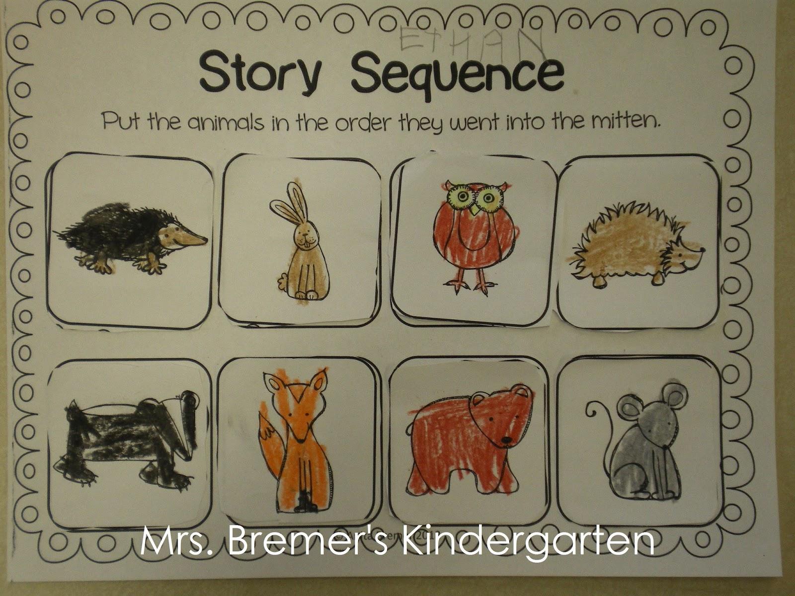 Mrs Bremer S Class Mitten Activities