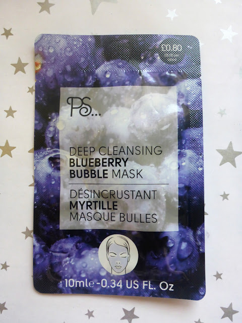 Primark PS Deep Cleansing Blueberry Bubble Mask