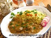 Jahňacie mäso na paprike so smotanou - recept