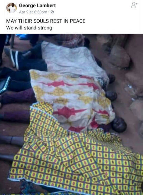 Photos: Suspected Fulani herdsmen open fire on fun-seekers at popular drinking spot in Plateau State, killing eight