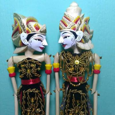 Wayang Golek Rama Sinta ukuran Kecil : jasa pembuatan & pengrajin wayang golek