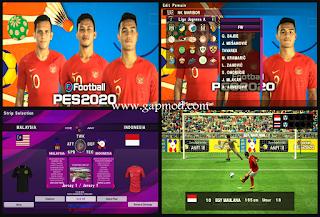 Download PES 2020 PPSSPP JOGRESS Mod SEA GAMES 2019