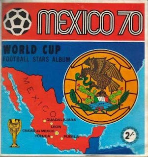 The Mexico 1970 World Cup album can sell for thousands of pounds at auction