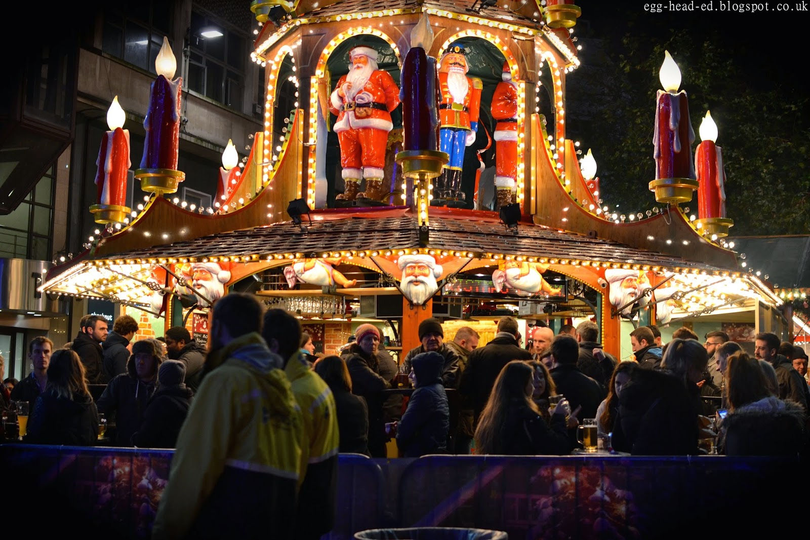 Birmingham Christmas Market Festive Lights