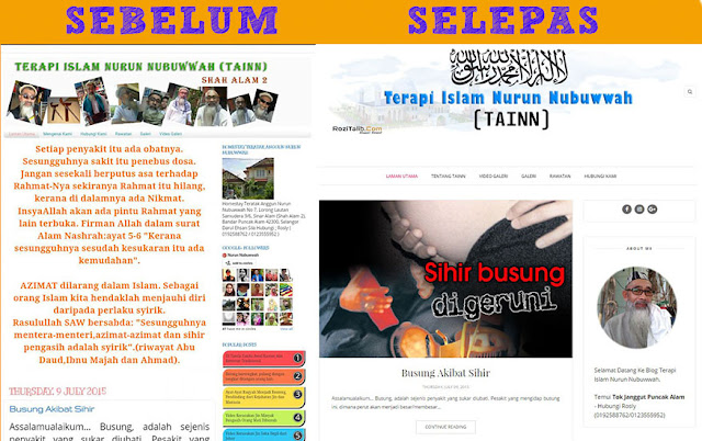 Make Over Blog Terapi Islam Nurun Nubuwwah