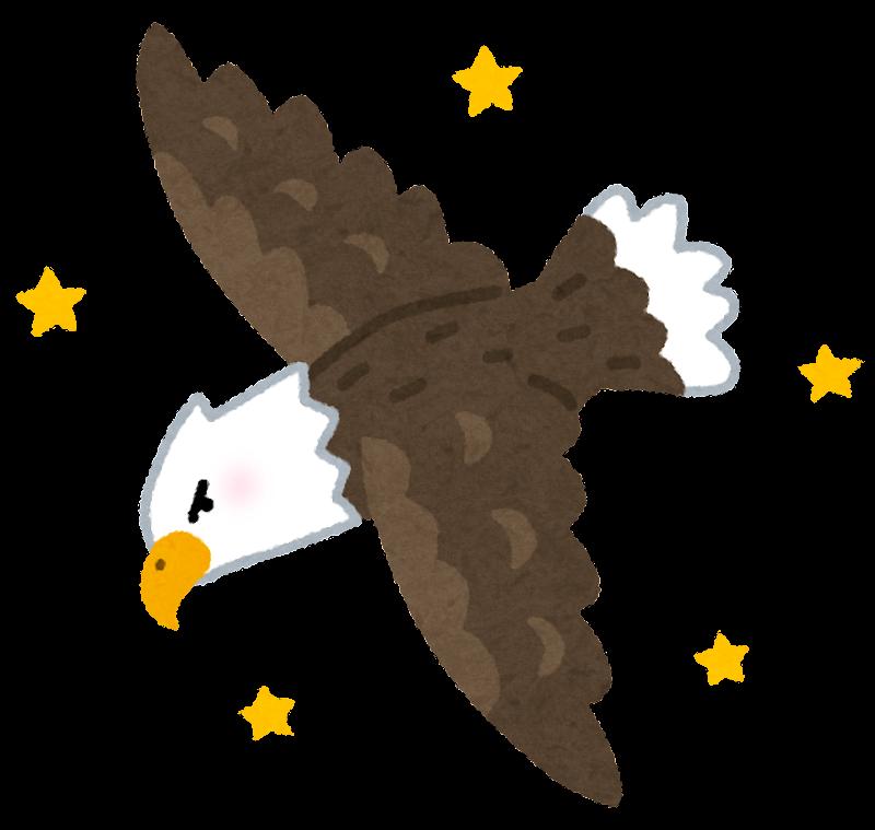 鷲 イラスト