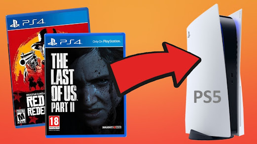 games PS4 to PS5