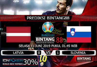 PREDIKSI LATVIA VS SLOVENIA 11 JUNI 2019