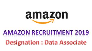 Amazon Hiring Freshers in Chennai 2019