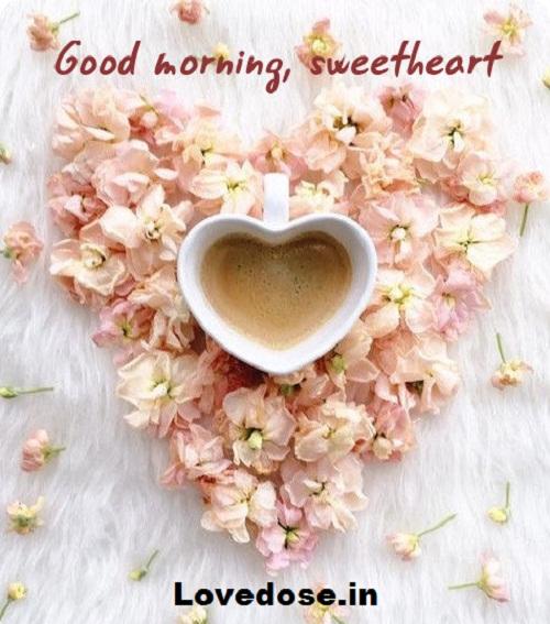sweet morning my love