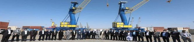 India Supplies Second Shipment of Equipment To Iran's Chabahar Port