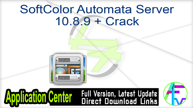 SoftColor Automata Server 10.8.9 + Crack