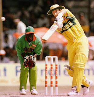 Mark Waugh 130 vs Kenya Highlights