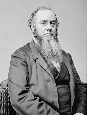 photograph of Secretary of War Edwin Stanton from wpclipart.com