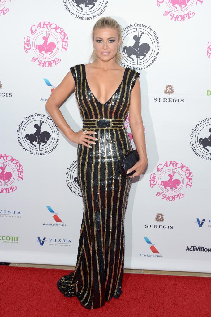 Carmen Electra at 2016 Carousel Of Hope Ball