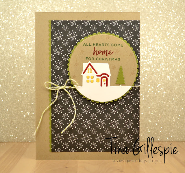scissorspapercard, Stamping' Up!, Christmas, Hearts Come Home, Hometown Greetings Edgelits, Merry Music SDSP