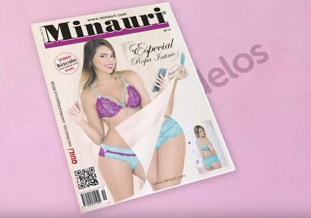 Revista con moldes - moldes tamaño real - ropa intima - lingerie - bianchería intima - underwear