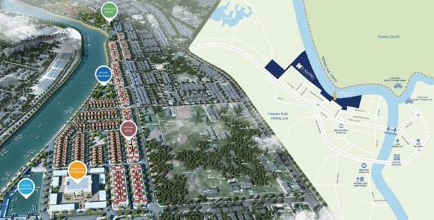 Quy hoạch tổng thể dự án Royal Riverside City Móng Cái