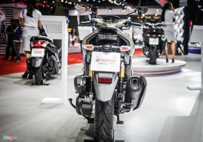 Nih penampakan Yamaha Aerox 155 VVA Limited Edition yang akan dijual di Vietnam