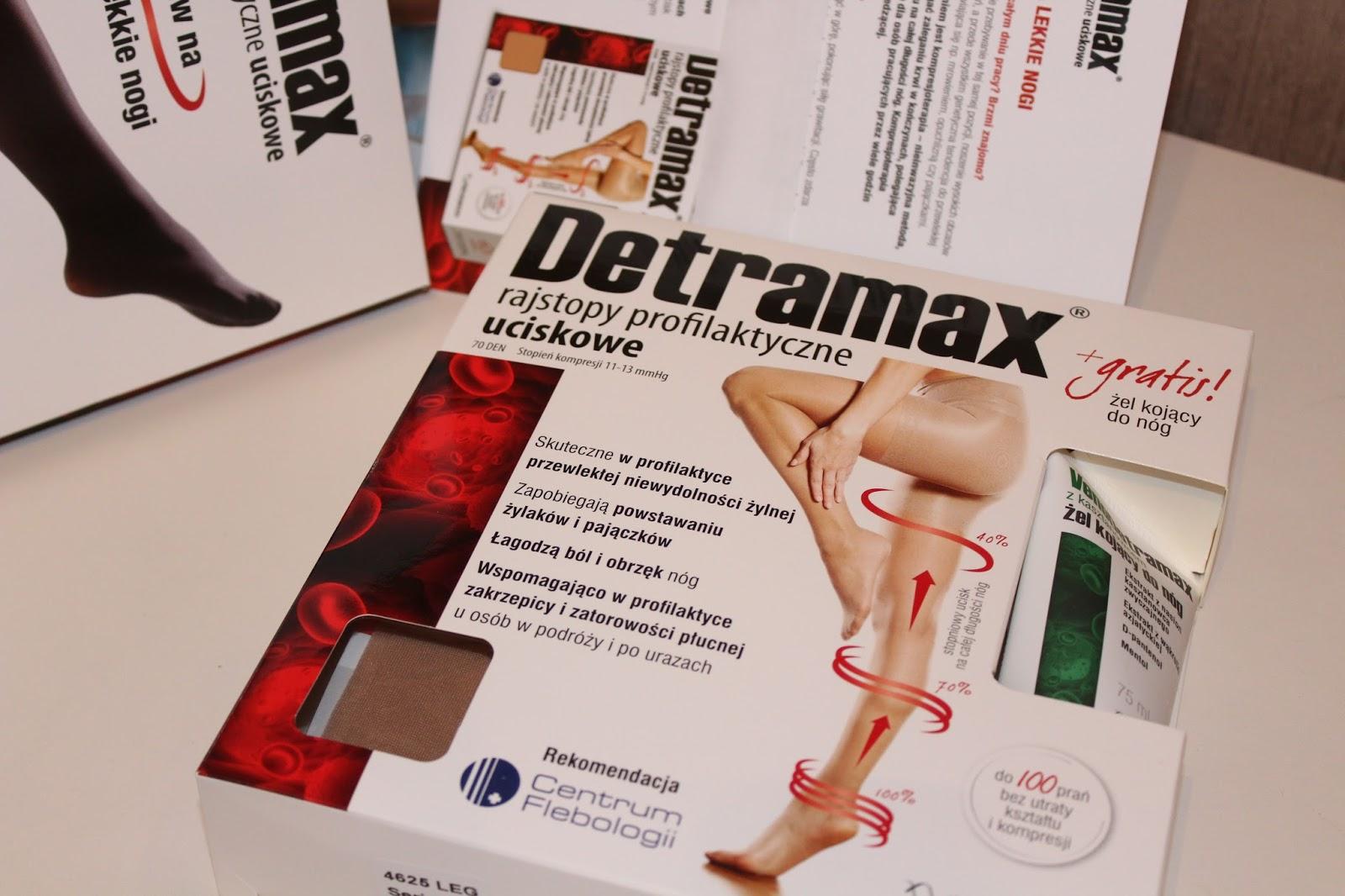 DETRAMAX / RAJSTOPY UCISKOWE /