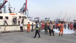 Endonezya'da yolcu uçağının denize düştü