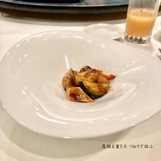 秋茸と海老の炒め01