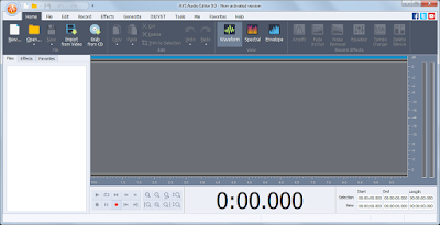 تحميل برنامج AVS Audio Editor 9 تسجيل وتحرير مقاطع الصوت
