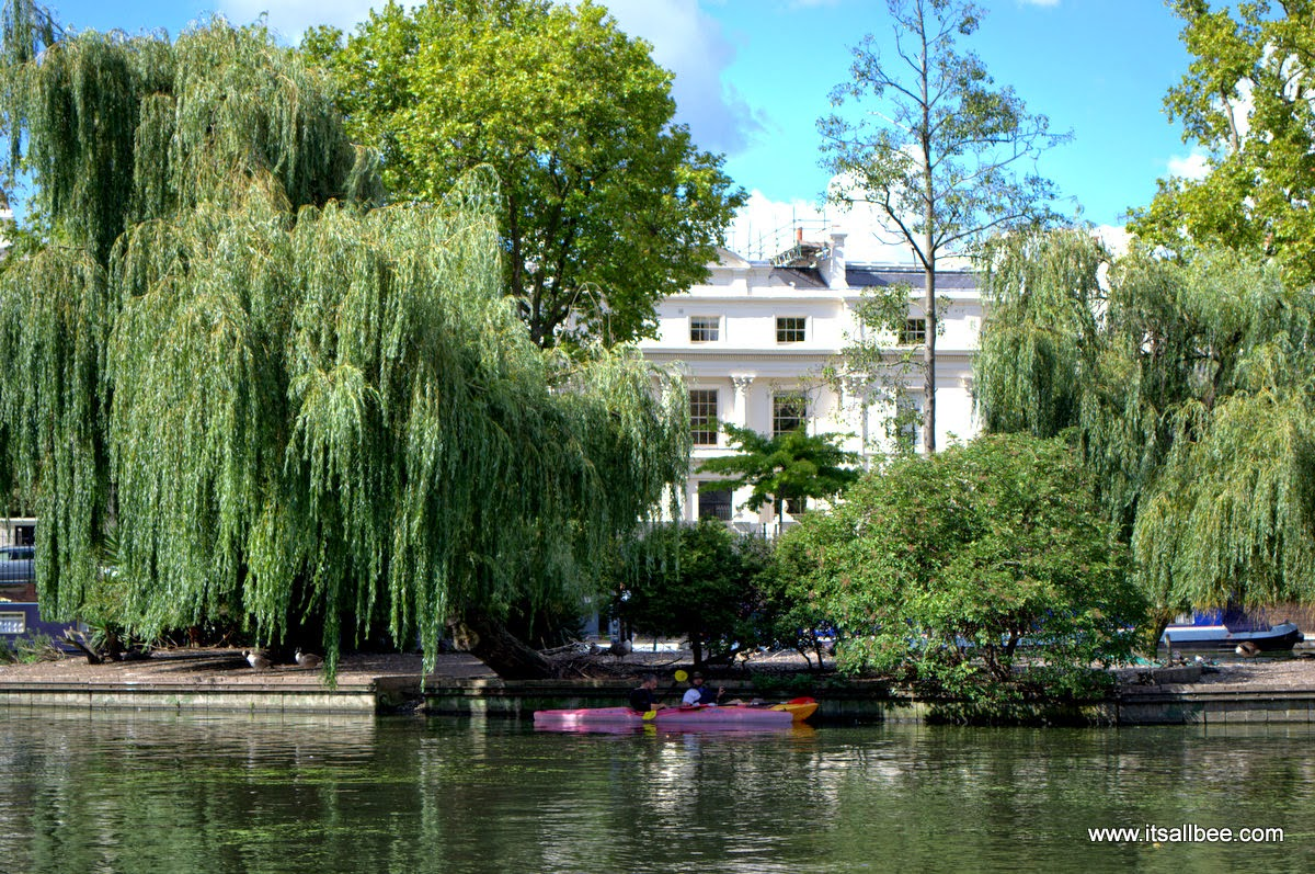 Kayaking Paddle boarding Little Venice London Warrick Avenue Paddington | Quick Guide To London's Little Venice | Canals, Boat Trips, Restaurants & Tours