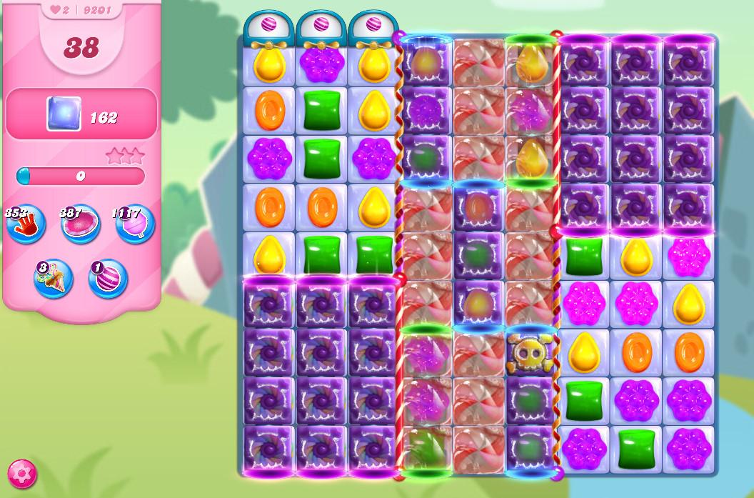 Candy Crush Saga level 9201