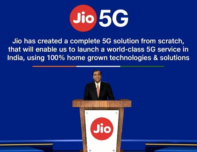 Reliance Jio Launch 5G