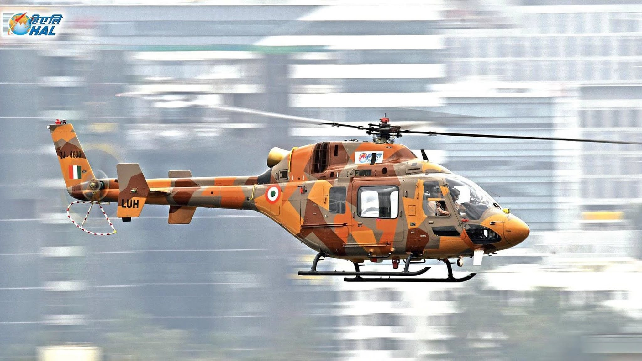 Light Utility Helicopter - LUH - Hindustan Aeronautics Limited - HAL - 01
