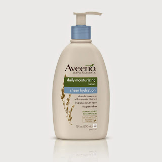 PRODUCT REVIEW: Aveeno Sheer Hydration Daily Moisturizing Lotion