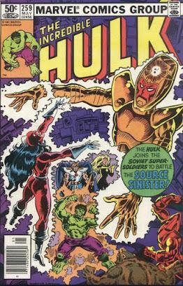 Incredible Hulk #259, the Presence