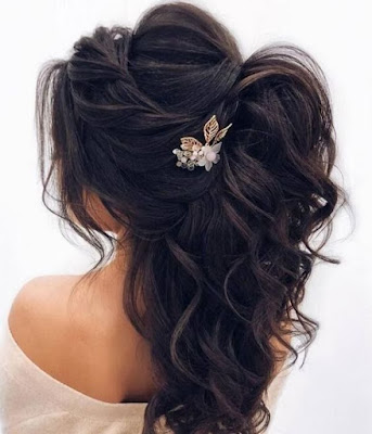 Trendy and easy wedding hairstyle ideas for women