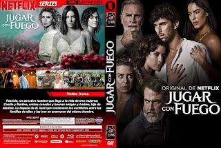 JUGAR CON FUEGO – 2019 [COVER – DVD – SERIES]