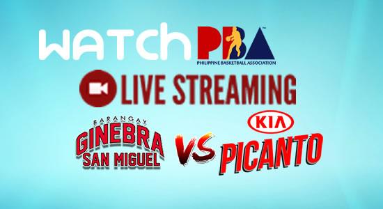 Livestream List: Ginebra vs Kia game live streaming February 7, 2018 PBA Philippine Cup