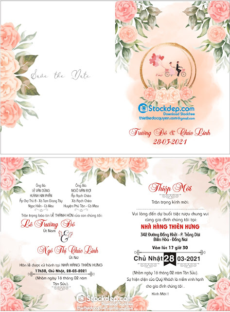 wedding invitation free download file corel